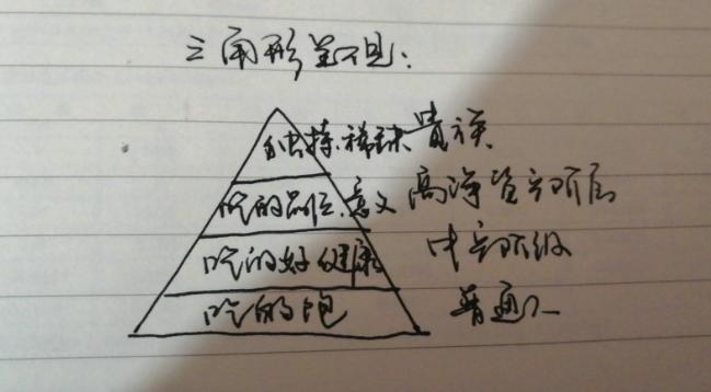 李书国讲三角形需求层次图